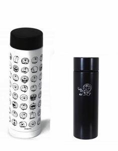 【新品】ASOKO ドラえもん ステンレスボトル ブラック ミニボトル 2点 セット 水筒