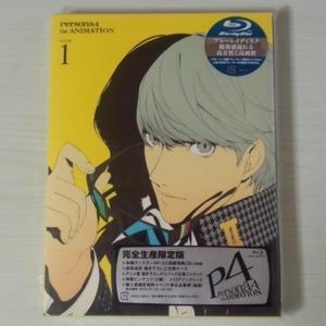 【Blu-ray】『ペルソナ4』 1巻(完全生産限定版) 未開封