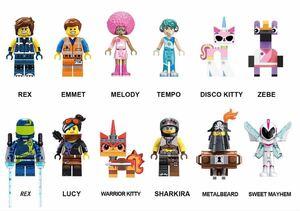 エミット ルーシー sweet mayhem レゴ 互換 ミニフィグ ムービー LEGO 互換 ブロック ミニフィギュア 12体セット