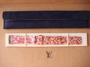 ルイヴィトン タンブール レディース専用 レオパード柄 替えベルト バンド 尾錠付き Sサイズ ホワイト 腕時計