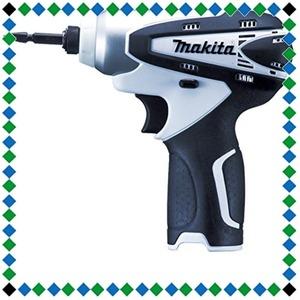 白 マキタ(Makita) 充電式インパクトドライバ 10.8V 白 (本体のみ/バッテリー・充電器別売) TD090DZW