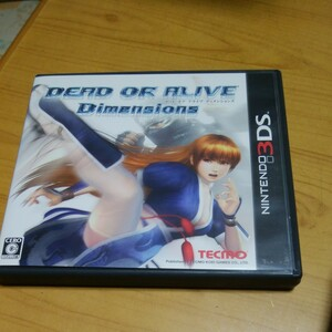 【3DS】 DEAD OR ALIVE Dimensions