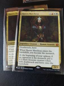 ★☆MTG 【EN】《マルチェッサ女王/Queen Marchesa》[MB1] 金R ★☆在庫枚数2枚 全ての商品同梱可能