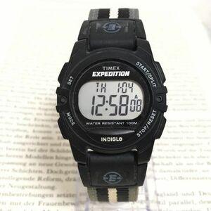 ★TIMEX EXPEDITION デジタル 多機能 腕時計 ★ タイメックス エクスペディション アラーム クロノ タイマー 稼動品 F3128