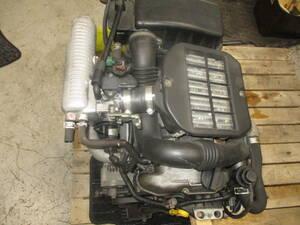 HN22S KEIワークス 9型/後期 5MT(4WD)用 エンジン(K6Aターボ)