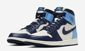 Nike Air Jordan 1 Retro High OG OBSIDIAN US9.5 ナイキ エア ジョーダン 1 レトロ ハイ OG オブシディアン 27.5cm