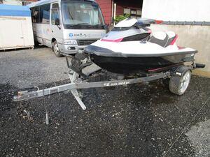 SEADOO ジェットスキー トレーラー車検付き