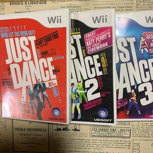 ジャストダンス1、2、3セット