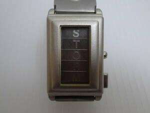 美品の方 ストーム STORM 腕時計 メール便 鷹飼