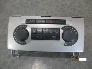 ムーブ カスタムL160Sムーヴカスタム前期L150Sエアコンパネル純正オートエアコン操作パネルL152Sエアコン スイッチ ハザード部品取り車あり
