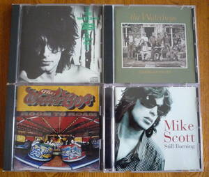 ■【WATERBOYS関連CD4枚セット】 THE WATERBOYS - A PAGAN PLACE / FISHERMAN'S BLUES / ROOM TO ROAM、MIKE SCOTT - STILL BURNING
