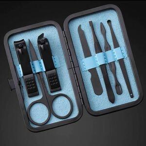 7点セット 爪きり 多機能ステンレス製ネイルケアセット ネイルケアセット爪やすり