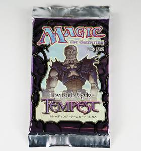 MTG 超希少品 1997年 テンペスト Tempest 新品未開封品 ブースターパック MAGIC The Gathering マジック ザ ギャザリング 即決