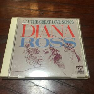 ダイアナ・ロス エンドレス・ラヴ~ラヴ・ソング・コレクション 国内盤CD