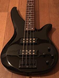 ヤマハ YAMAHA RBX374 アクティブ エレキベース 黒 サテンネック 極薄塗装 2H ハムバッカー パワフル 重低音 サウンド メンテ済み