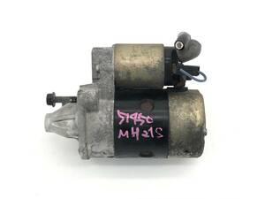 _b51450 スズキ ワゴンR FT-Sリミテッド ABA-MH21S セルモーター スターター K6AT 31100-75F02 MH22S マツダ AZワゴン MJ21S MJ22S