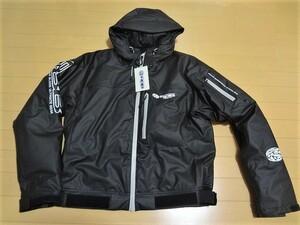 リバレイ/RBB PUウェーディングジャケットⅡ ブラック/Lサイズ 8872(未使用新品)