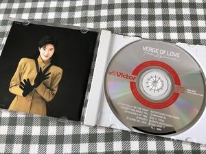 荻野目洋子 CD VERGE OF LOVE 盤面良好