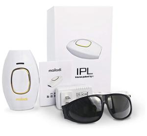 【ラスト1点】脱毛器 IPL技術 光美容器 永久脱毛 美肌機能搭載 肌に優しい 自動連続照射 家庭用 全身用 5段階で調整可能 30万発 男女兼用