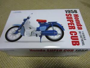 ★ スーパーカブ C100 ブルー ★1/10 ダイキャスト ★Honda SUPER CUB