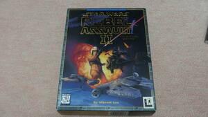【激レア】レトロPCゲーム STAR WARS REBEL ASSAULT II/スターウォーズ レベルアサルト2