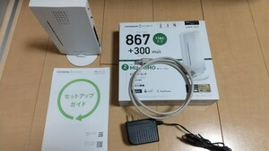 IO-DATA 11ac対応867Mbps(規格値)Wi-FiルーターWNPR1167F