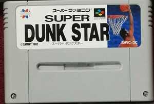 スーパーファミコン ソフト スーパーダンクスター SUPER DUNK STAR SFC
