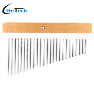 ◆最安にします◆バーチャイム 25トーン 打楽器 本体 シルバー 高品質 耐久性 吹奏楽 AT2778