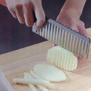 *1 иен старт * край нож волна форма нержавеющая сталь овощи фрукты порез . пилинг уличный отдых кемпинг барбекю AT5453