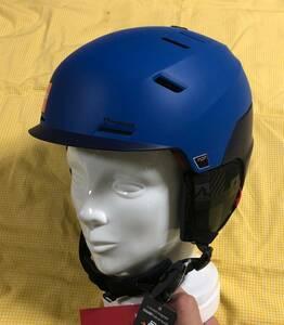 [  Блиц-цена  ]  Новый товар.  Неиспользованный MARKER PHOENIX MAP  синий   Марр  автомобиль  шлем   диск  Регулировка  легкий MAP Защита  модель M размер 45%OFF