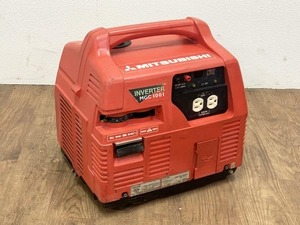 MITSUBISHI/三菱 0.95kVA インバーター発電機 MGC1001 / ガソリンエンジン 50/60Hz 950VA