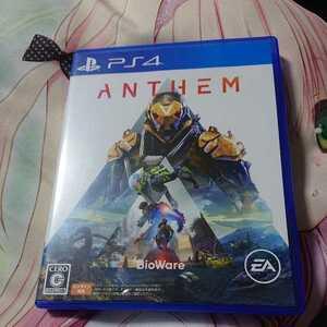 PS4 ソフト ANTHEM アンセム