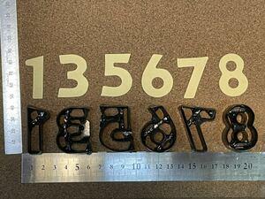 数字1の抜き型 オーダーメイド レザークラフト どれか一つ