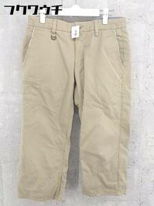 ◇ NICOLE CLUB FOR MEN ニコルクラブフォーメン クロップド パンツ サイズ46 ベージュ系 メンズ
