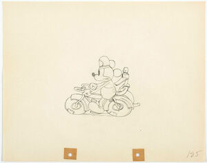 Disney ディズニー ミッキーマウス ドナルドダック セル画 原画 限定 レア 入手困難