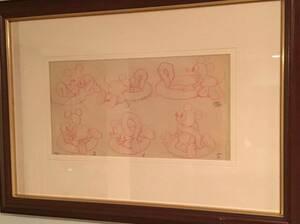Disney ディズニー ミッキーマウス セル画 原画 限定 レア 入手困難