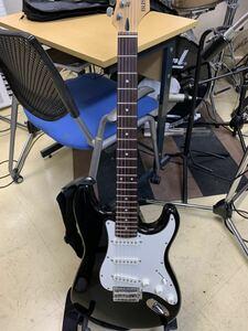 フェンダーストラトタイプ BUSKER'S バスカーズ エレキギター ストラトキャスター ソフトケース付き ブラック