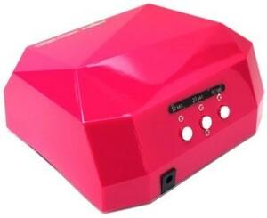 【1円】LEDライト36W ネイルドライヤー ジェルネイルライト レジン 自動センサー搭載 タイマー付きハイパワー 硬化ライト ピンク