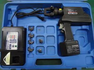 ■IZUMI 泉精器 電動油圧式工具 REC-60G 圧着工具 電設 イズミ【0】