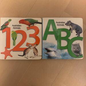 オーストラリア 子ども向け 写真付き 本 2冊まとめ売り English BOOK 英語絵本