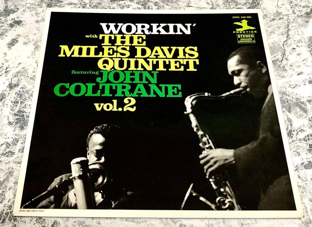 期間限定値下!美再生!別ジャケ高音質仏オリジMiles Davis / Workin' John Coltrane,Red Garland,Paul Chambers