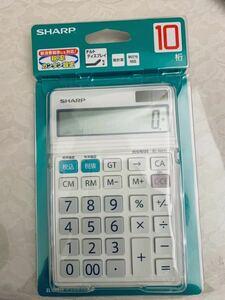 シャープ 電卓10桁 EL-N431X チルドディスプレイ 新品