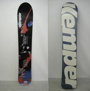 【NH325】スノーボード 板のみ Kemper ケンパー INTRUDER 150cm KEMPER キャンパー