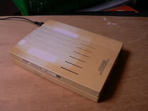 送料最安 00円 MDM01:ジャンク品 サン電子モデム SUNTAC MS288EF DATA/FAX INTELIGENT MODEM 通電確認、適当ACアダプタ付き