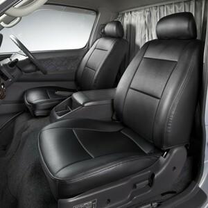【Azur/アズール】 フロントシートカバー ヘッドレスト一体型 運転席単品 マツダ タイタン LKR/LJR H16/7~H18/12 [AZU10R08]