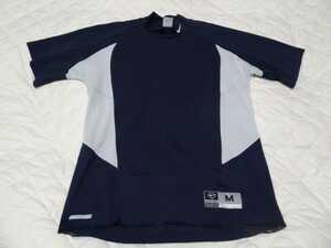 NIKE ナイキ 野球 インナーシャツ BASEBALLシリーズ 紺色系 サイズM USED美品