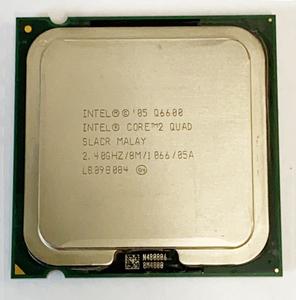 【中古パーツ】【CPU】複数可まとめ買いと送料がお得!!(在庫8枚)Intel Core 2 Quad Q6600■CPU Q6600