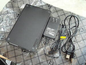 I・O DATA 1GBタイプ USB2.0接続 HDドライブ HCA-U1.0K 美品 送料無料