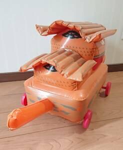 送料無料 お城 バルーン お散歩 時代劇 おもちゃ 大きい 風船 空気 コロコロ タイヤ 紐 子供 キッズ 孫 男の子 女の子 散歩 城 着物