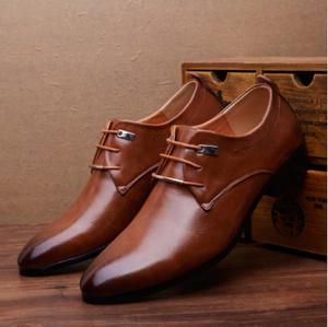 男性 靴 ビジネスドレススタイル Mz3133 レースアップ オックスフォード靴 メンズシューズ 紳士靴 茶色/黒色 オシャレ靴